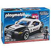 Playmobil 5614 City Action Police Car with Lights