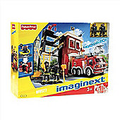 Imaginext Rescue Fire Truck and Tower W8572 - Fisher Price