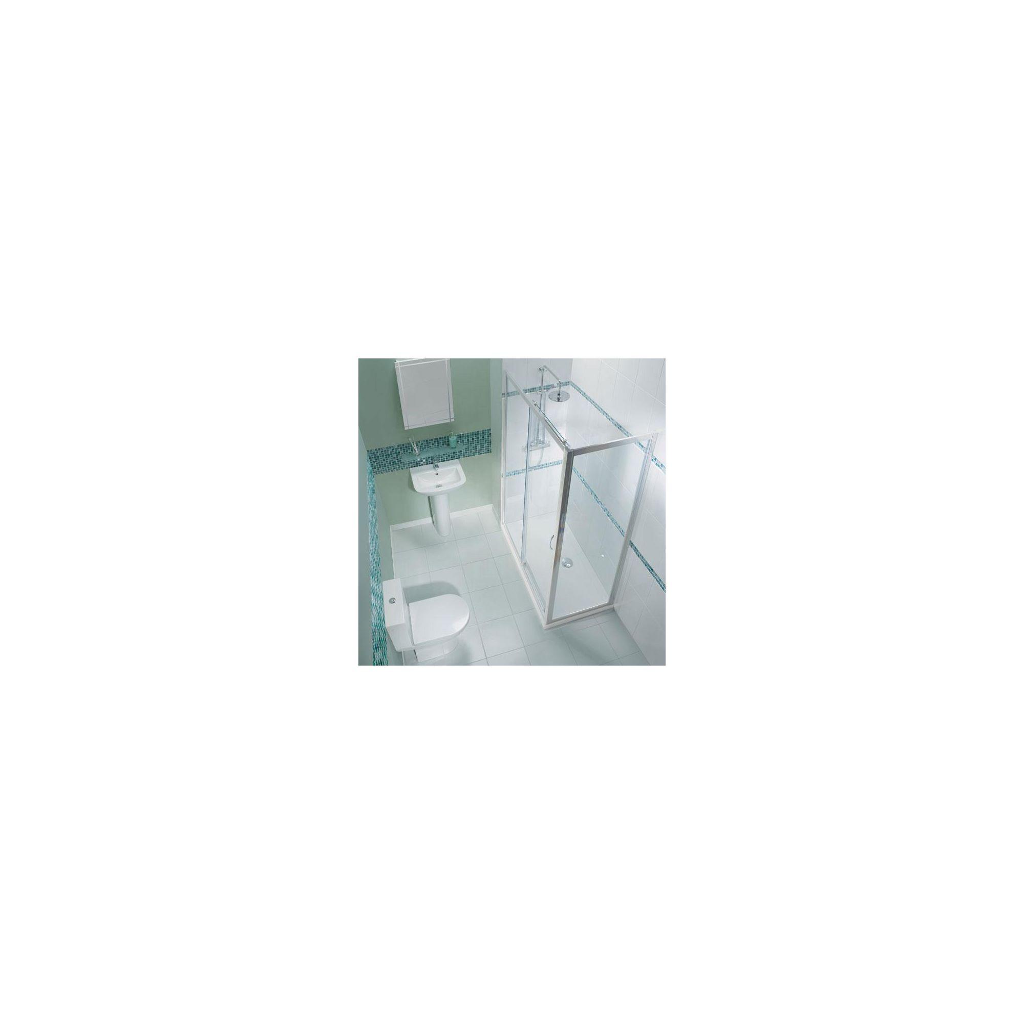 Balterley Framed Sliding Shower Door, 1700mm Wide, 6mm Glass at Tesco Direct