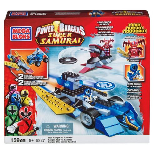 Mega Bloks Blue Ranger Showdown (Blue Ranger vs Xandred)