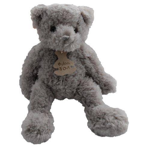 Historie D'ours Grey Shaggy Bear, 32cm