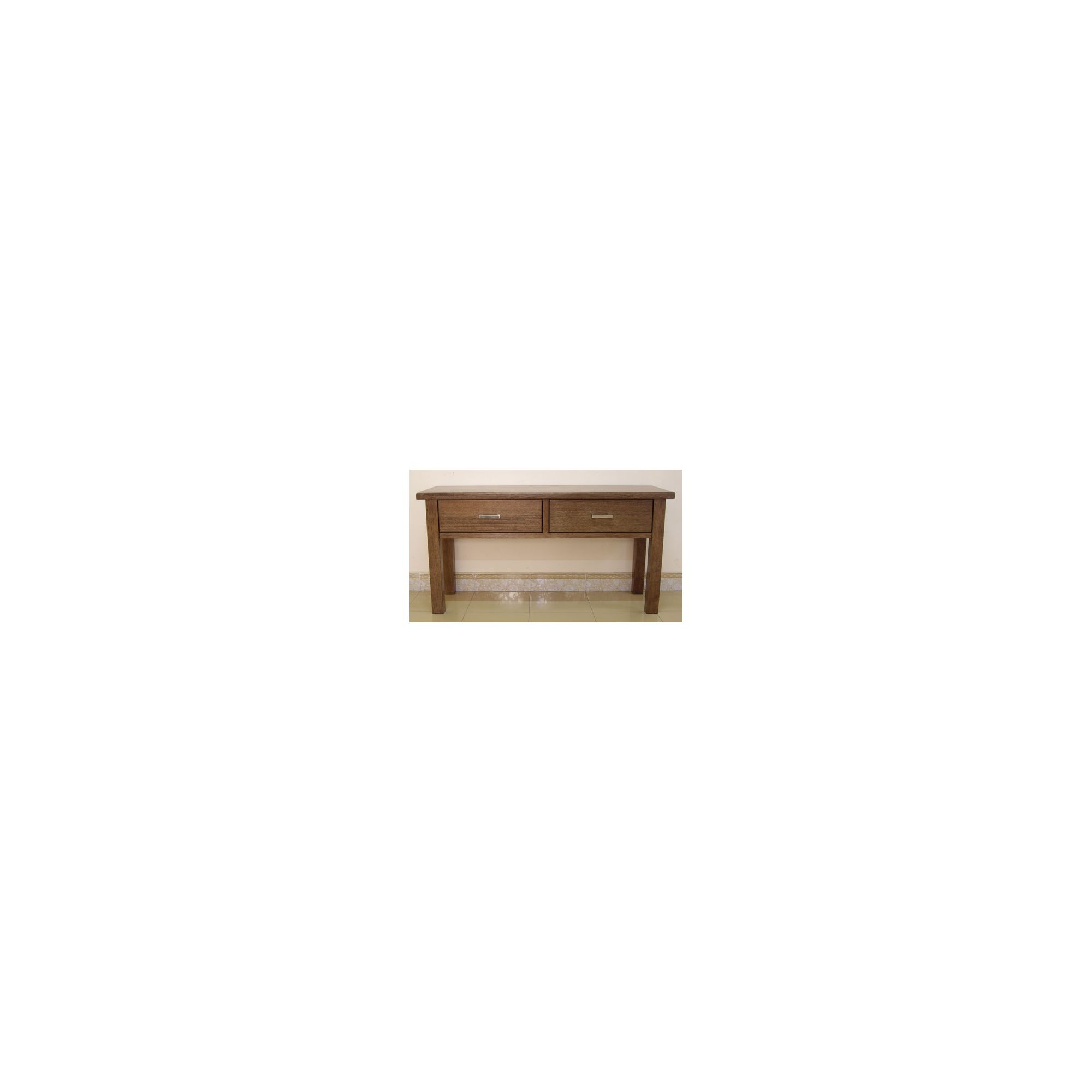 Wildwood Carla 2 Drawer Console in Driftwood at Tesco Direct