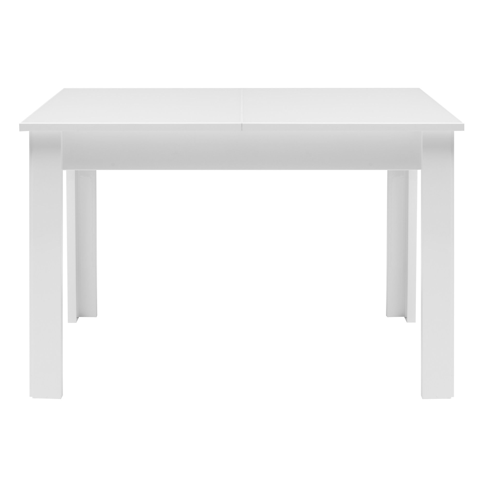 Caxton Manhattan Table with 4 Chairs in White Gloss at Tesco Direct