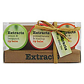 Extracts Lip Balm Trio