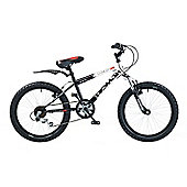 "Concept Demon 20"" Kids' Bike, Black/White"