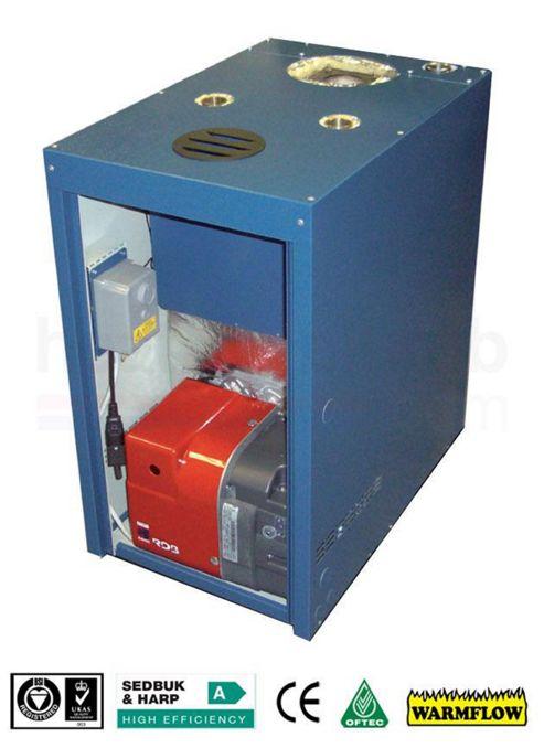 Warmflow B-SERIES Boilerhouse Condensing Oil Boiler 26-33kW