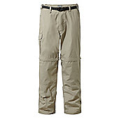 Craghoppers Mens Kiwi Convertible Walking Trousers - Beige