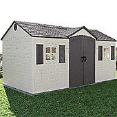Lifetime plastic shed 15 x 8
