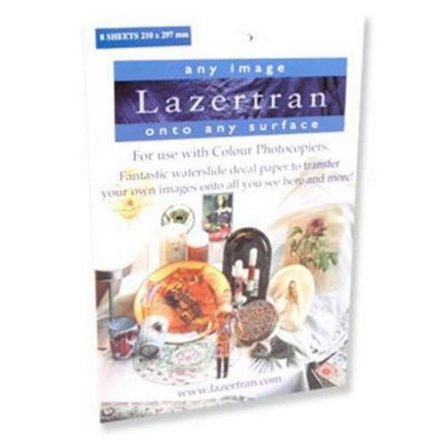 Lazertran A4 Waterslide Decal Paper