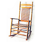 Solid Wood Traditional Rocking Chair - Oak