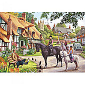 A Ride with Mum 500 piece jigsaw