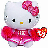 "TY Beanie 6"" Plush - Hello Kitty Cheerleader"