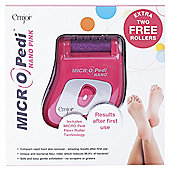 MICROPEDI NANO PINK with rollers