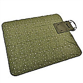 Confidence Camping Picnic Waterproof Blanket With Roll Bag 150Cm Outdoor Green