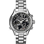 Timex Intelligent Quartz World Time Bracelet Chronograph Watch T2N944