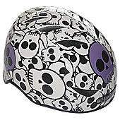 HardnutZ Purple Skulls Medium Helmet 54-58cms