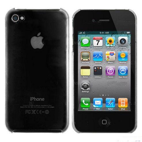 U-bop Full Body PolySHELL Transparent - For Apple iPhone 4, 4S S