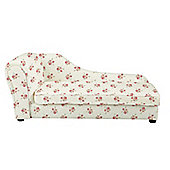 Children's Chaise Longue - Rose Natural