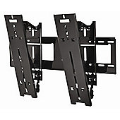 "Peerless Ultra-Slim Medium Tilting Wall Bracket for 32-46"" Screens in Gloss Black"
