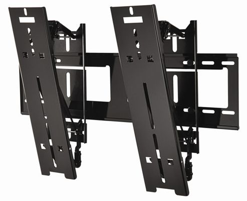 Peerless Industries 32-46inch Screens Ultra-Slim Medium Tilting Wall Bracket Gloss Black