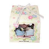 6 Piece Vintage Tea Party Baby Boy Clothes Cupcake Gift