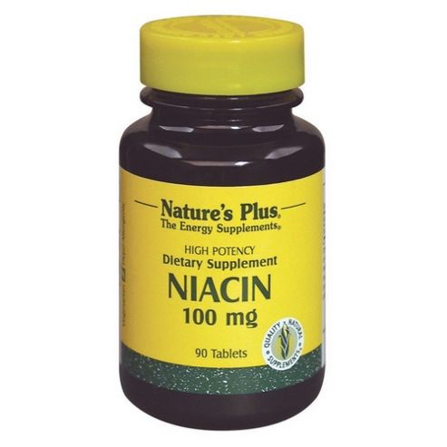 Natures Plus Niacin 100 mg 90 Tablets