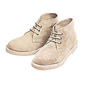 Lightweight Brushed Suede Desert Boots (Pair) - Sand