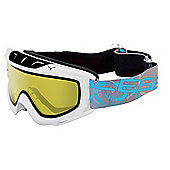 Cebe Ethic Ski Goggles White Yellow Flash.
