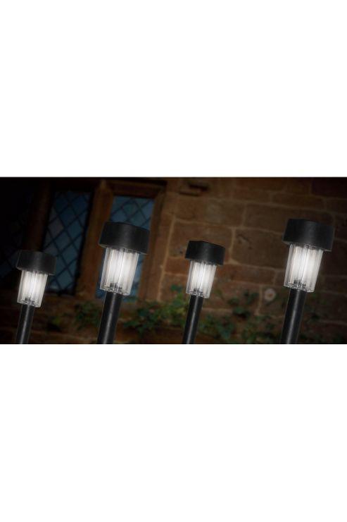 Kempton Solar Marker Garden Lights 4 Pack