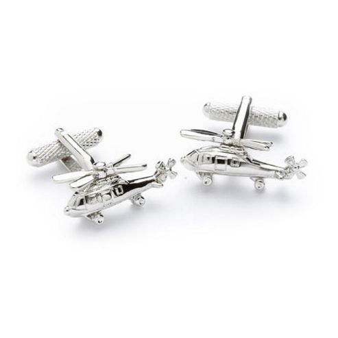 Helicopter Novelty Themed Cufflinks