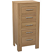 Kelburn Furniture Milano 5 Drawer Chest