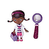Doc McStuffins and Friends - Doc Mini Figure and Magnifying Glass