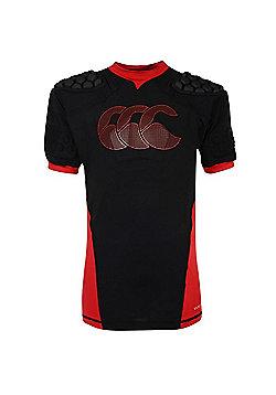 Canterbury Vapodri Raze Flex Vest Kids - Black/Red/White - Black