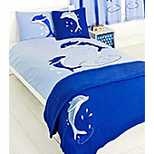 Dolphin 4 Piece Single Bed Set