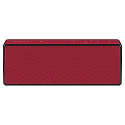 Sony SRX3 Portable Wireless Speaker, Bluetooth & NFC, Red