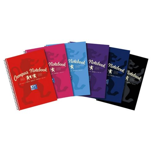 Oxford A4 Wirebound Notebook