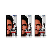 Just for Men Autostop - Colour Real Black Pack of 3