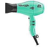 Parlux Advance Lightweight Hair Dryer Ceramic and Ionic Mint Green