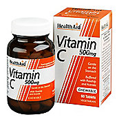 Vitamin C 500mg - Chewable