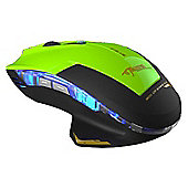 E-Blue Mazer Type-R 6D Wired USB Gaming Mouse in Green
