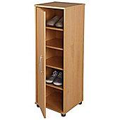 Neat - Compact Shoe Storage Cabinet / Cupboard - Beech