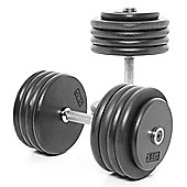 Body Power Pro-style Dumbbells 45kg (x2)