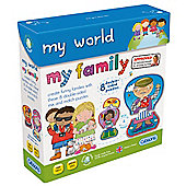 My World My Family Puzzle