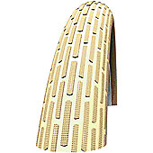 Schwalbe Fat Frank Tyre: 26 x 2.35 Creme-Reflex Wired. HS 375, 60-559, Performance Line, Kevlar Guard