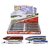 Die Cast Sonic Bullet Train With Lights And Sound