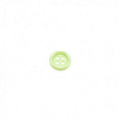 Dill Buttons 13mm Round - Pale Green