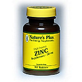 Natures Plus Zinc 10mg Elem 90 Tablets