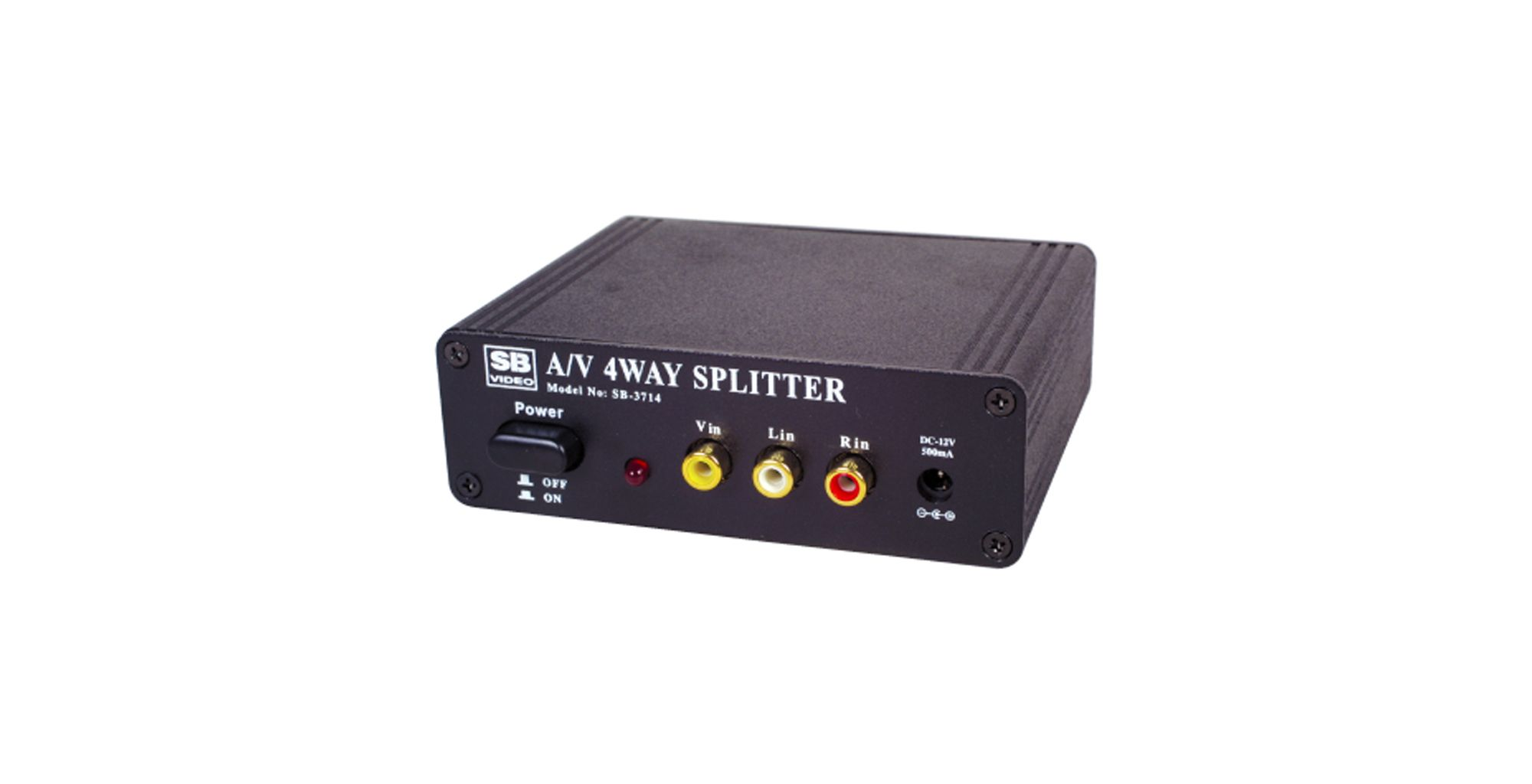 4-Way Video Splitter / Amplifer