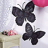 Butterfly Chalkboard Wall Stickers