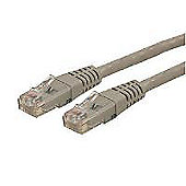 StarTech.com 10 ft Gray Molded Category 6 Patch Cable - ETL Verified